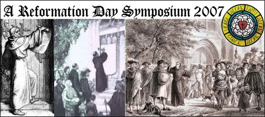 Reformation Day 2007