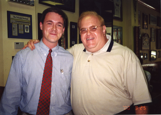 Burk Parsons with Lou Pearlman