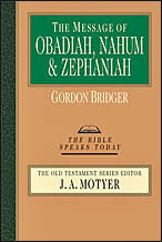 Obadiah, Nahum and Zephaniah