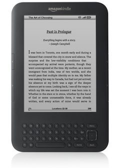 Win a Kindle 3G