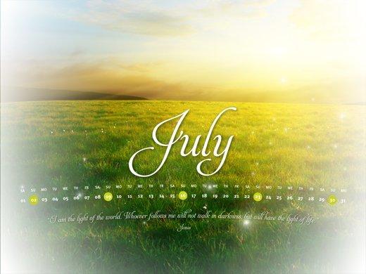 July Light