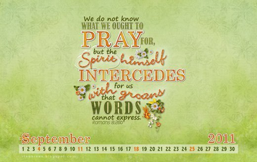 What we Ought to Pray For