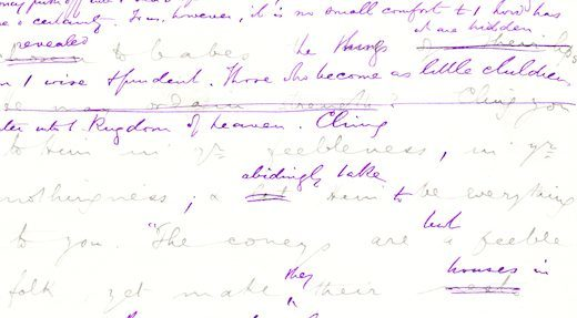 Spurgeon Manuscript