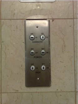 Elevator Sabbath Service