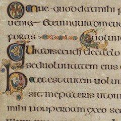 Book of Kells Detail