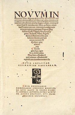 Novum Instrumentum