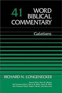 Longenecker Galatians
