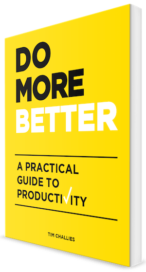 Do More Better
