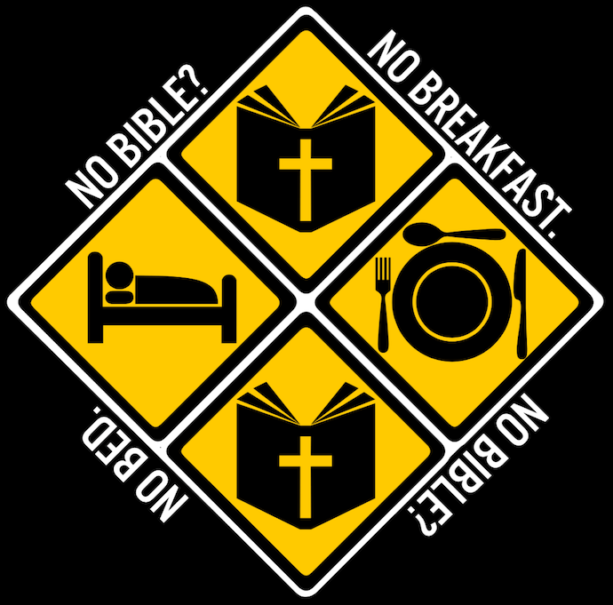 No Bible No Breakfast