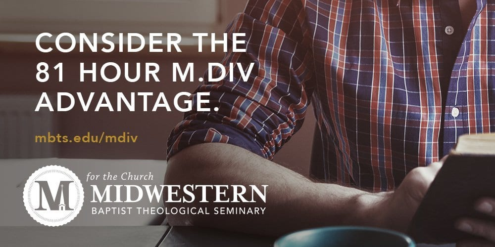 Why An 81-Hour MDiv
