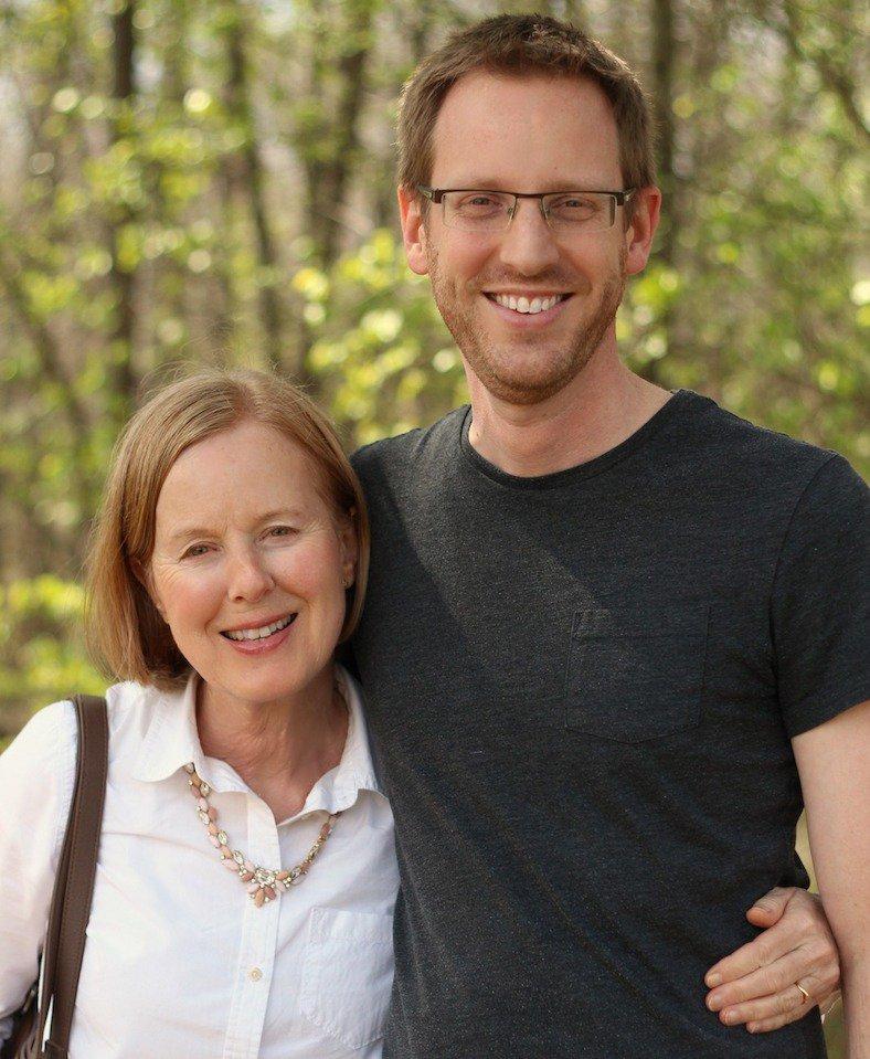 Tim and Mom