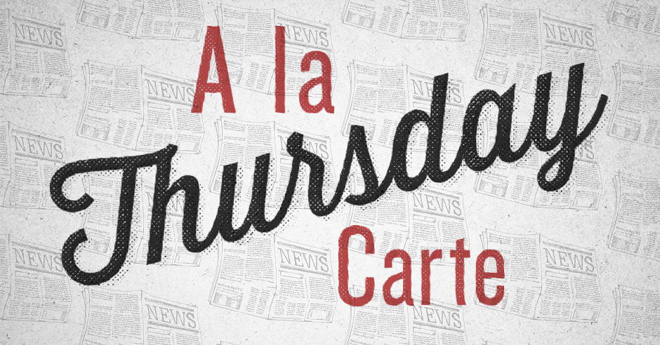 A La Carte (August 22) - Tim Challies