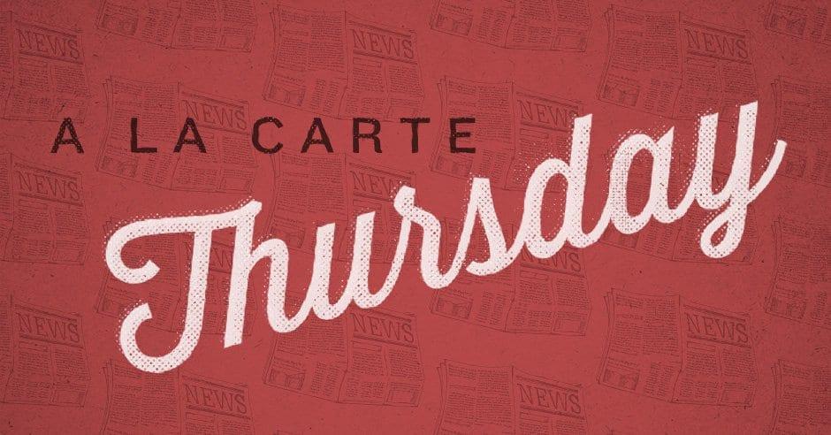 A La Carte (January 16) - Tim Challies
