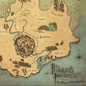 Pilgrims Progress Map