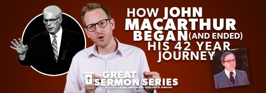 How John MacArthur began (and ended) His 42 Year Journey