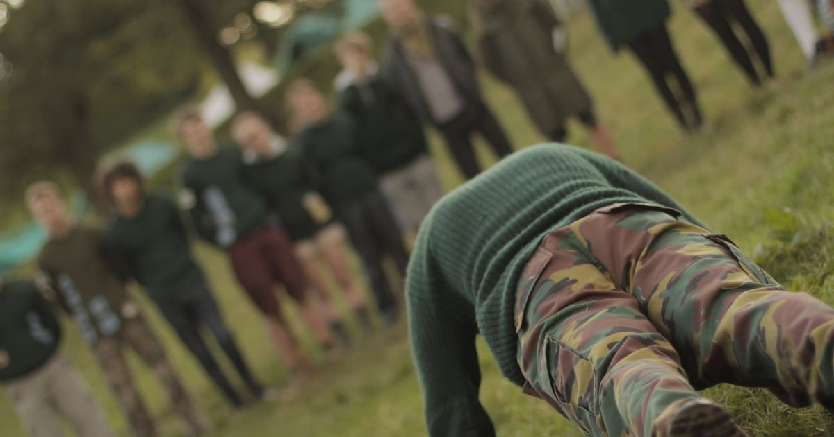 Young People and the Hundred Pushup Challenge of Life