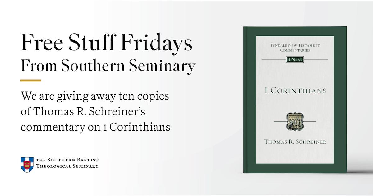 Free Stuff Fridays (Southern Baptist Theological Seminary) - Tim Challies