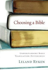 Book Review – Choosing A Bible