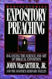 Book Review – Rediscovering Expository Preaching